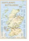 Schottland Destillerien Karte