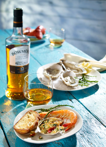 Whisky & Seafood Bowmore