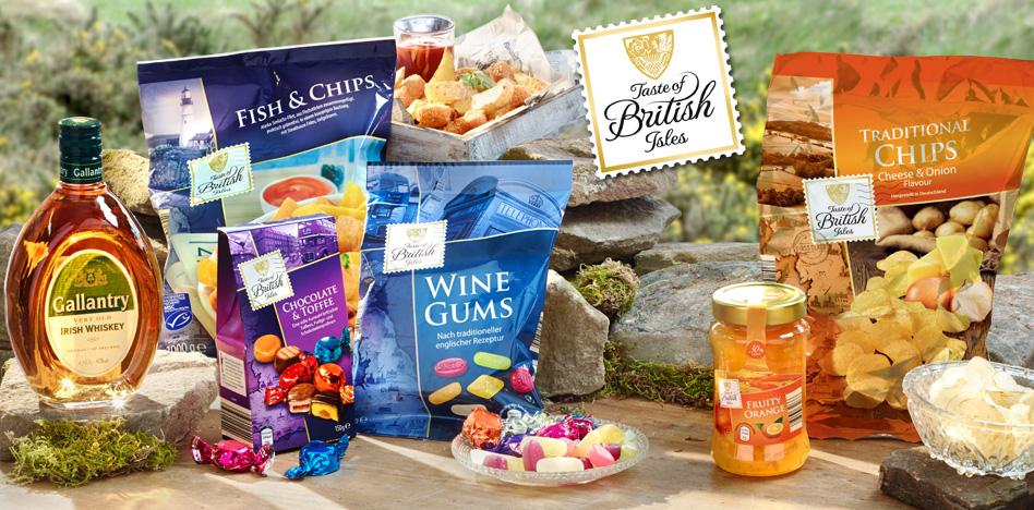 Taste of British Isles (c) ALDI Süd