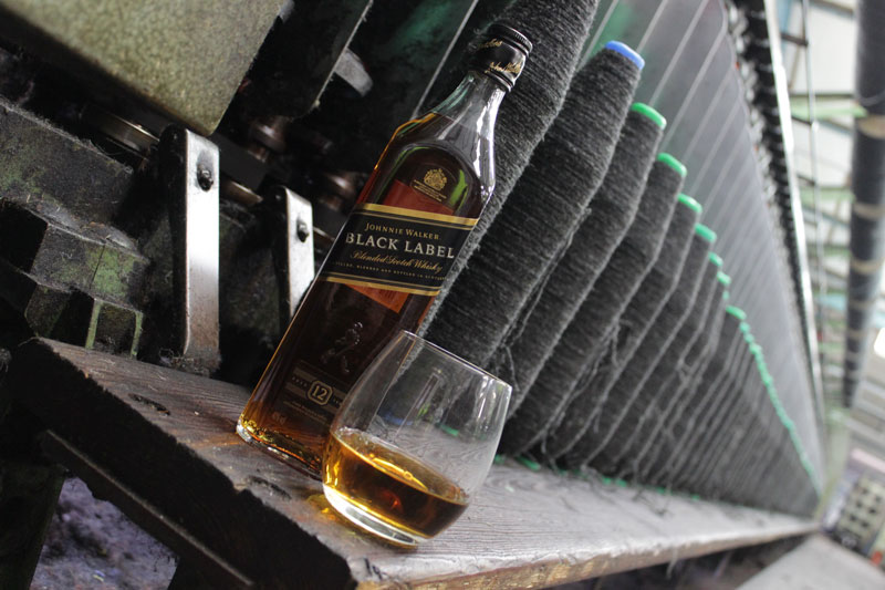 Johnnie Walker & Harris Tweed