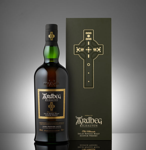 Ardbeg Kildalton bottle and packaging