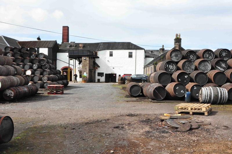 Springbank ist ein arbeitendes Museum. Hier wird Whisky wie im 19. Jhd. gemacht, vom Mälzen bis hin zur Abfüllung, natürlich und unverfälscht. Ein einzigartiges Kleinod in der schottischen Whiskyindustrie. (c) Ernst J. Scheiner 2015