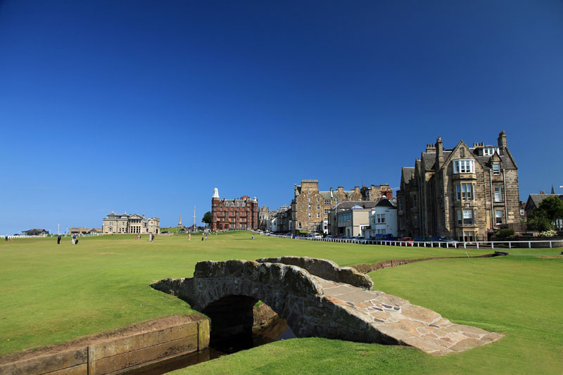 St. Andrews Old Course Credit Glenmorangie