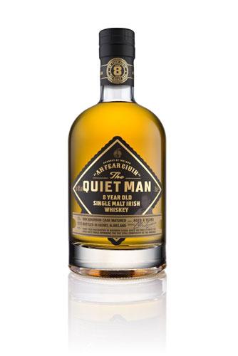 The Quiet Man 8 Jahre Single Malt Whiskey