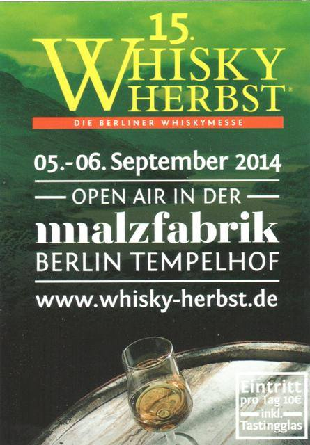 Whisky Herbst 2015