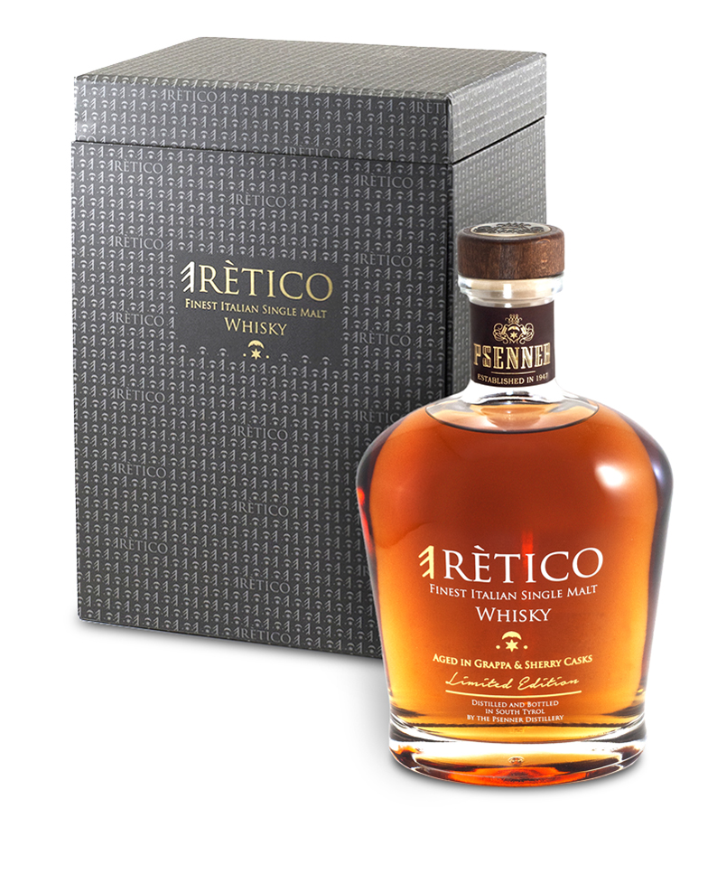 eRètico, der erste Italian Single Malt Whisky