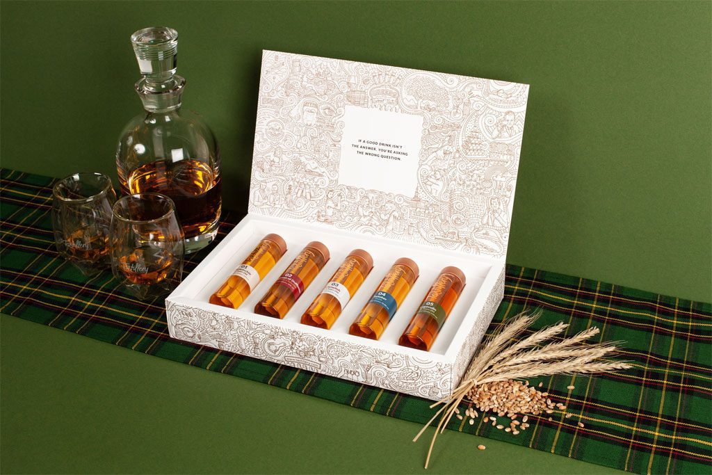 The Whisky Adventure Tasting Set von Tastillery
