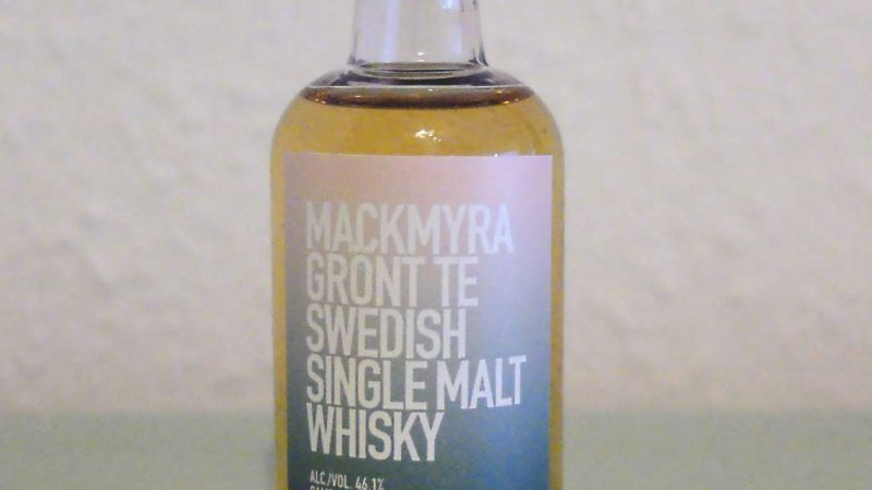 Mackmyra Grönt Te Swedish Single Malt Whisky Sample