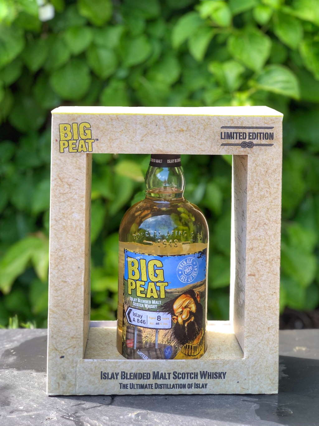 Big Peat 8 Years Old A846 Limited Edition.