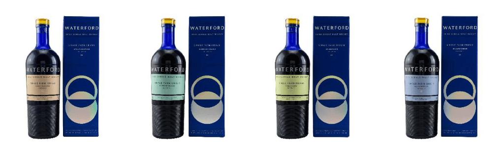 Jede der vier neuen Waterford-Editionen stammt von völlig verschiedenen Terroirs