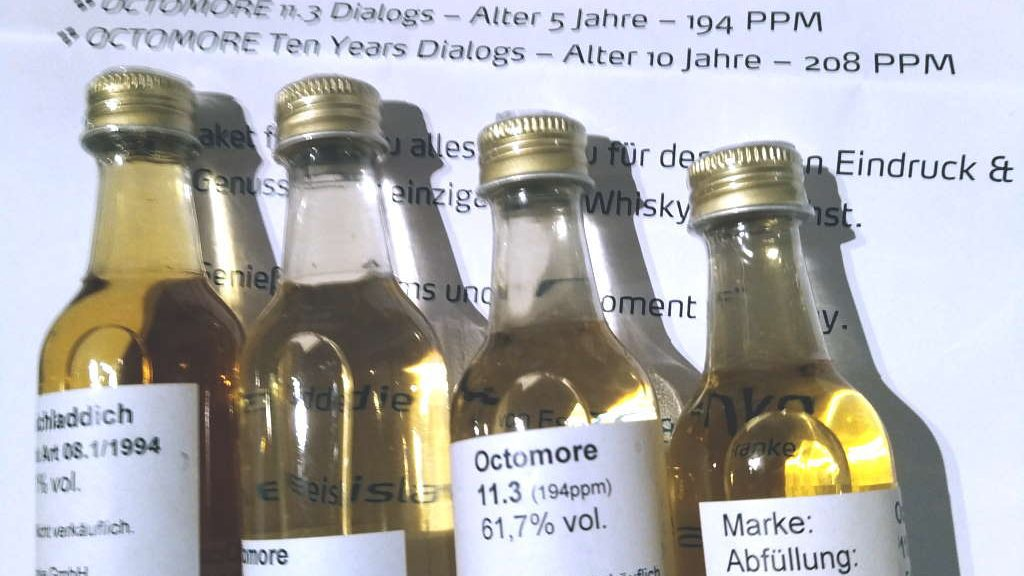 Bruichladdich Black Art 08.1 und Octomores 11