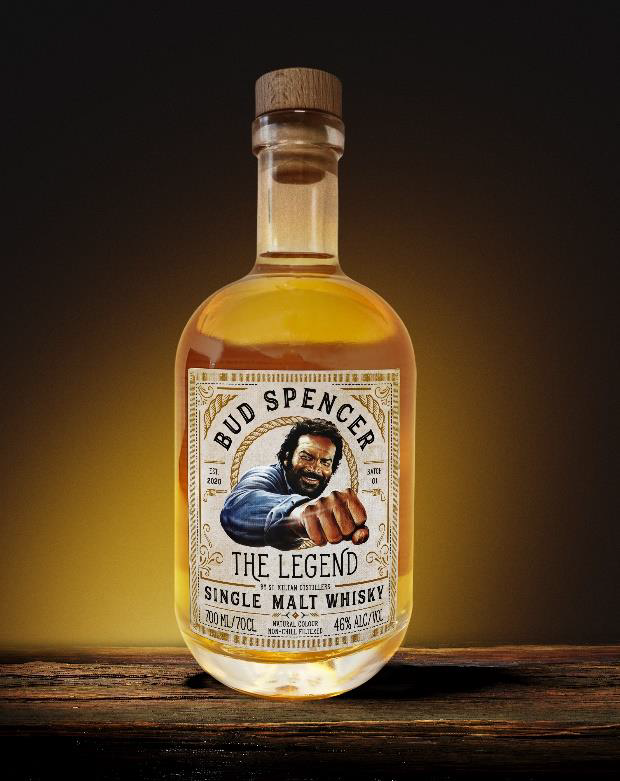 Bud Spencer The Legend Sngle Malt Whisky Flasche