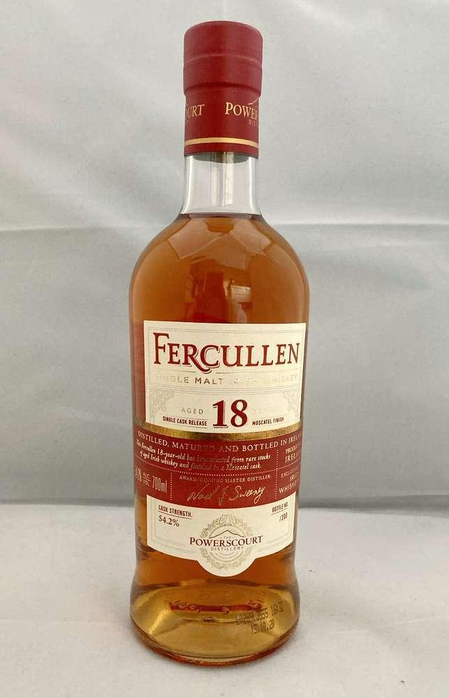 Fercullen 18 Jahre Moscatel Single Cask Whiskey - Irish_Whiskeys