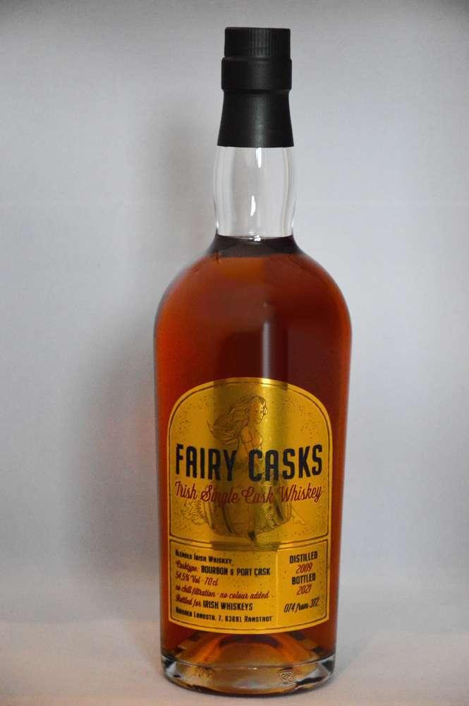 Fairy Cask Irish Blended Whiskey Port Cask Finish