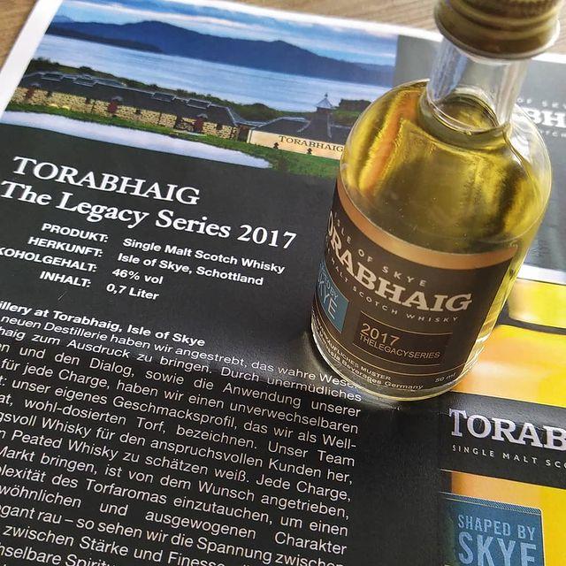 Torabhaig The Legacy Series 2017 Samples