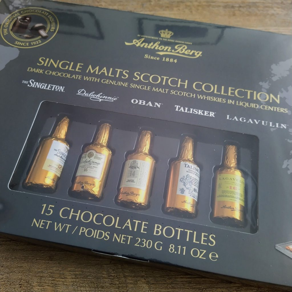 Anthon Berg Single Malts Scotch Collection