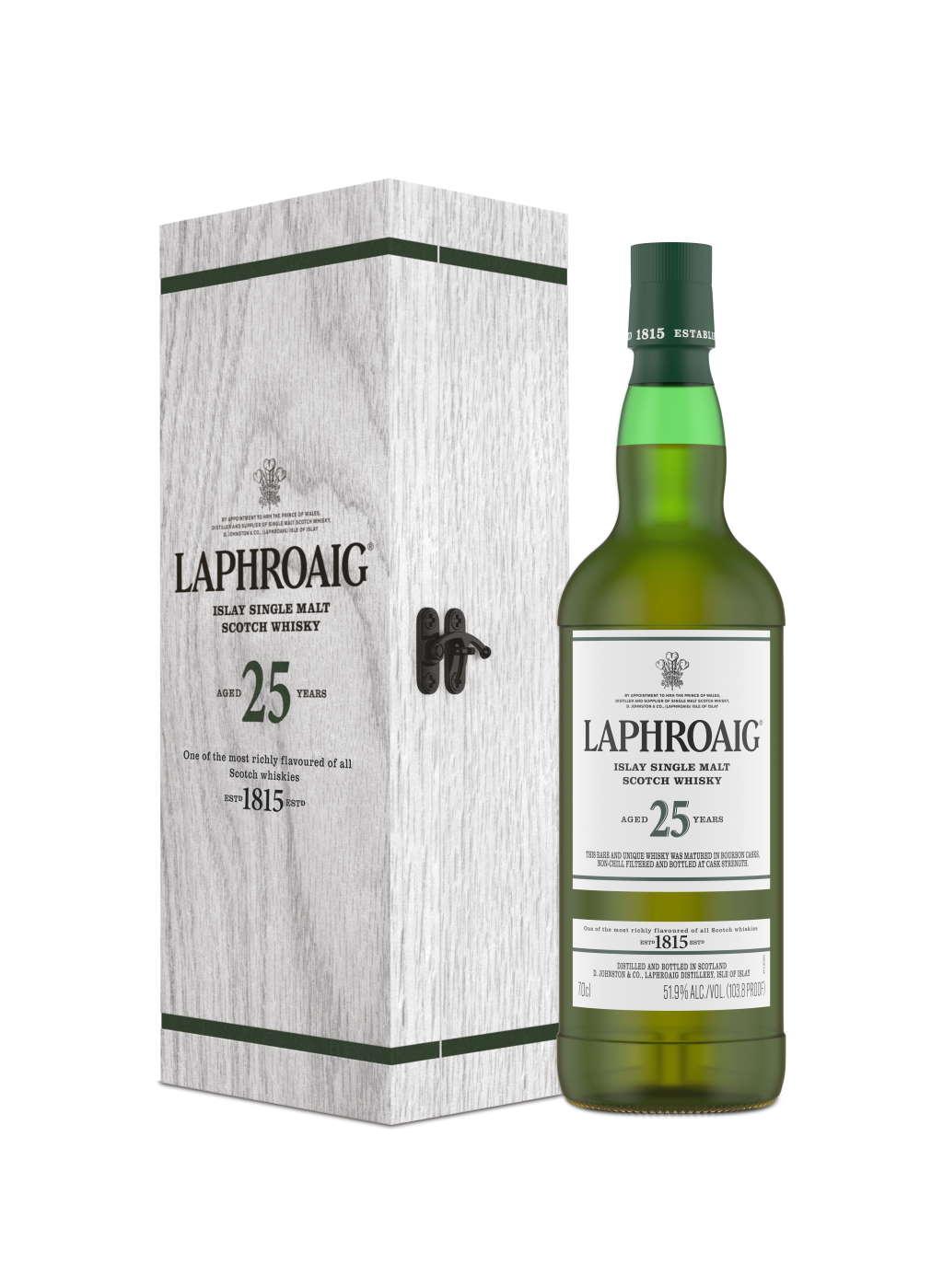 Laphroaig 25YO Cask Strength 2021